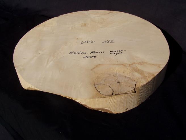 Ahorn - Eschenahorn gemasert, geriegelt